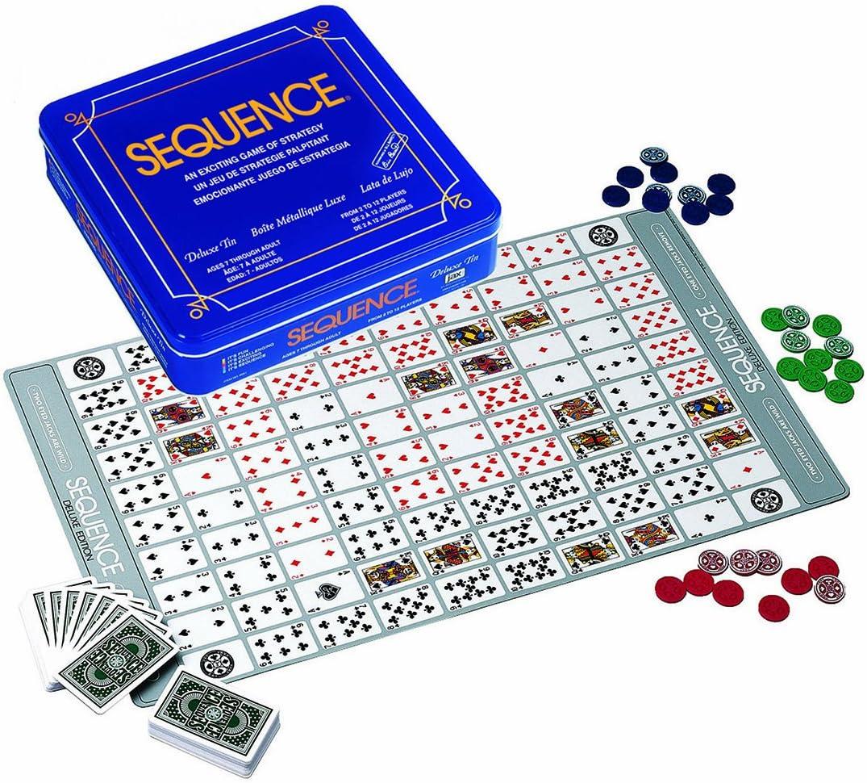 Sequence Deluxe Tin by Jax: Amazon.es: Juguetes y juegos