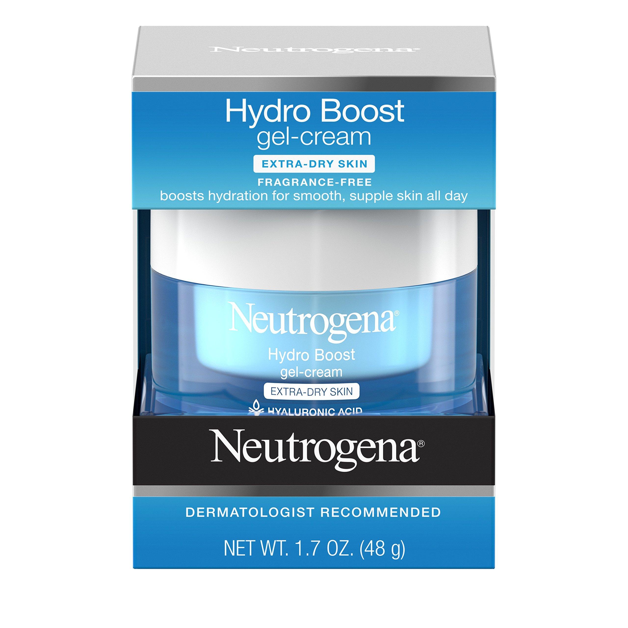 Neutrogena Hydro Boost Hyaluronic Acid Hydrating Face Moisturizer Gel-Cream to Hydrate and Smooth Extra-Dry Skin, 1.7 oz by Neutrogena (Image #4)