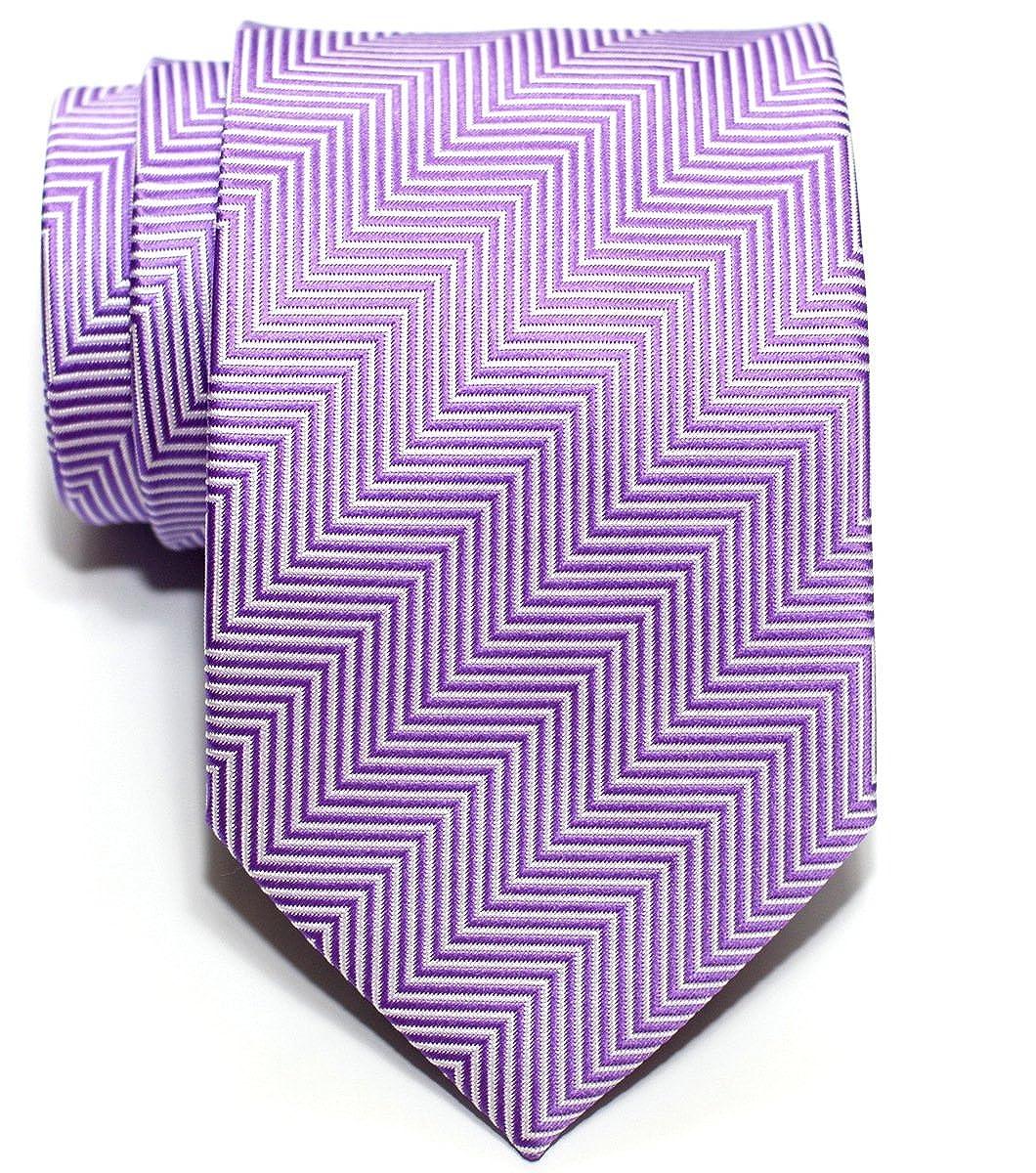 Cravate Rtz De Rayures Microfibres Retreez Tissée À En Épi Tie rx8Awarq