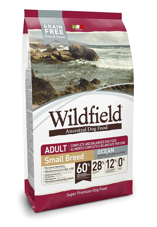 Wildfield Ocean Hering, Lachs und Thunfisch Mittlere/Große Rassen, 1er Pack (1 x 12 kg)