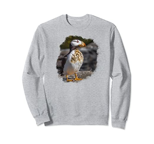 Puffin on Rocks Sweatshirt