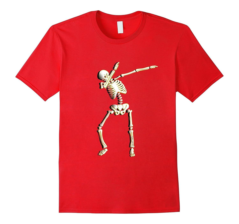 Dabbing Skeleton Cinco de Mayo Shirt Cool Costume May 5th-Vaci