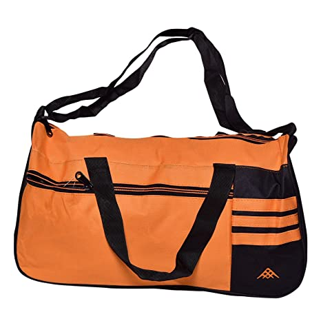 3e760d88e Buy Yuva Nylon Orange Duffel Bag Online at Low Prices in India - Amazon.in