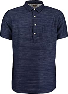 Common People Mens Spirit Over Head Polo Shirt - Navy