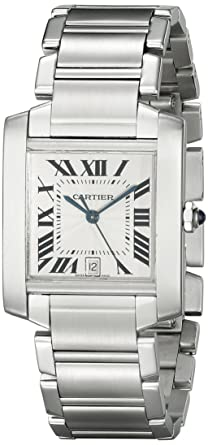cartier francaise automatic mens watch w51002q3 amazon co uk watches cartier francaise automatic mens watch w51002q3