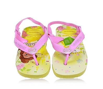 00c4d3e337c887 Havaianas Baby Disney Princess. Belle and Cinderella Flip Flops ...