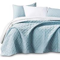 KASENTEX KXW1802-BB Stonewashed Coverlet Quilt Set Lightweight Bedding