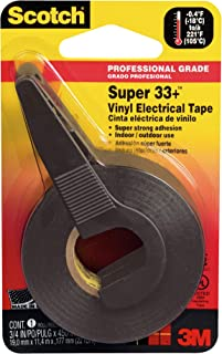 product image for Scotch 0.75-in by 450-in Super 33+ Vinyl Electrical Tape (10414NA)