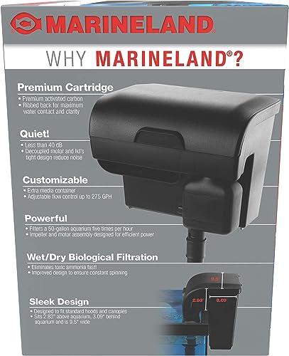 Marineland filter benefits