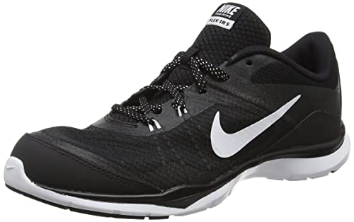 Nike Flex Trainer 5 Womens Cross Training Shoes Black/Anthracite/White 5 B(M) US