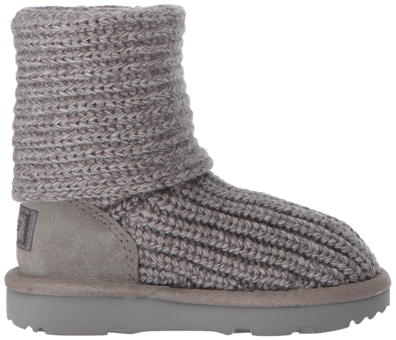 UGG Girls K Cardy II Pull-on Boot, Grey, 13 M US Little Kid by UGG (Image #7)