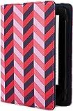 Jonathan Adler Herringbone - Funda para Kindle y Kindle Paperwhite, color azul/rosa