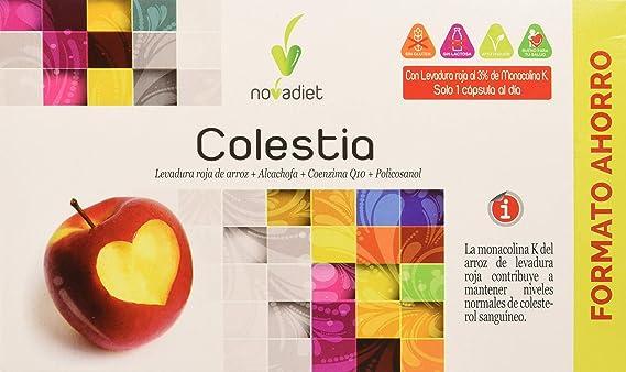 Novadiet Colestia - 60 capsulas: Amazon.es: Salud y cuidado personal