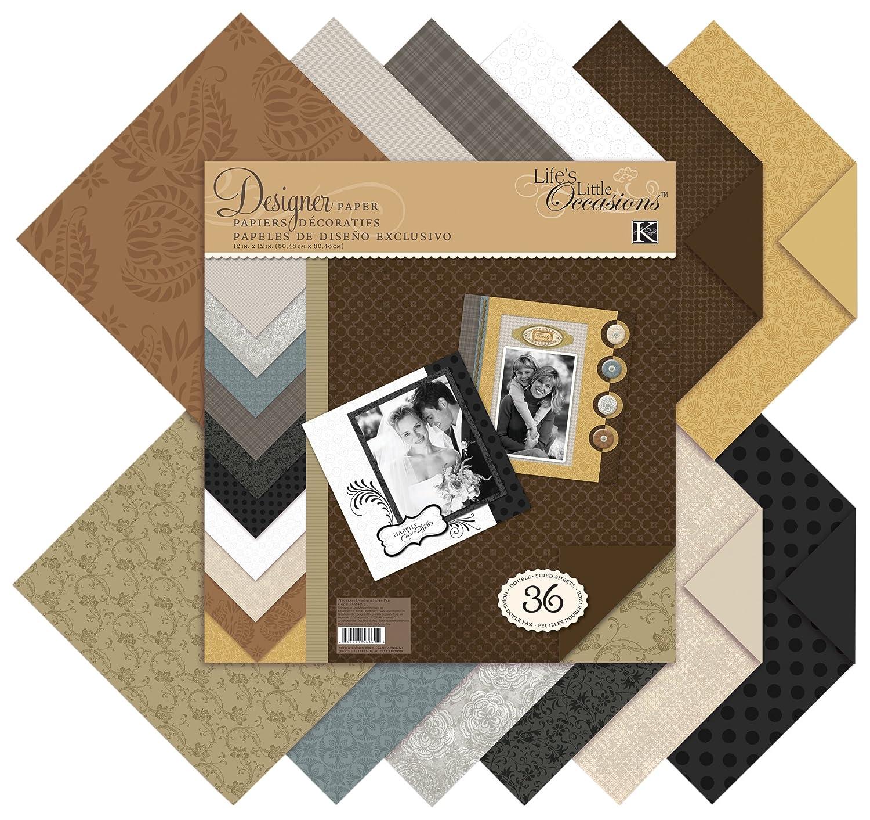 K & Company 30-588691 Neutrals Designer Paper Pad EKS