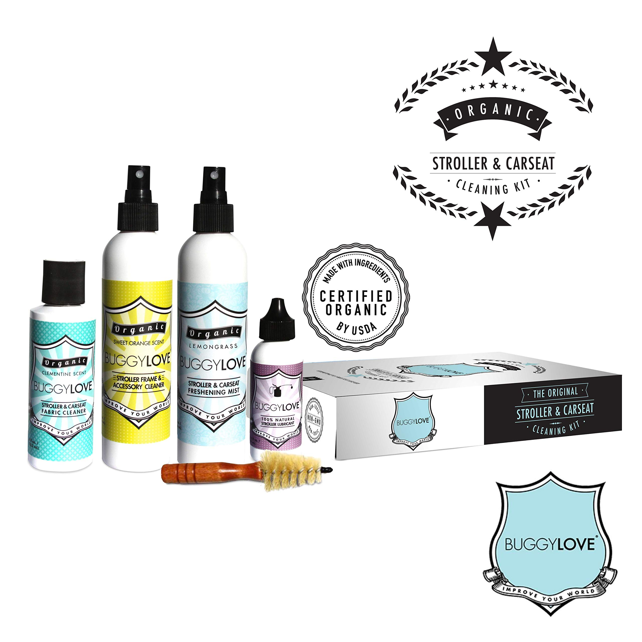 BuggyLOVE Organic Stroller Car Seat Cleaning Kit by BuggyLOVE (Image #2)