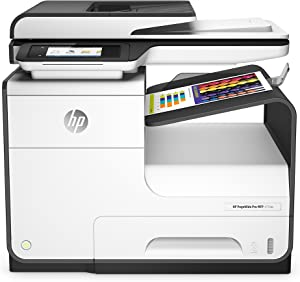 HP PageWide Pro 477dw Color Multifunction Business Printer with Wireless & Duplex Printing (D3Q20A) (Renewed)