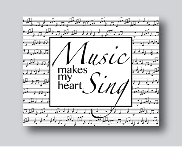 Amazon Com Music Teacher Gifts Music Poster Music Gifts For
