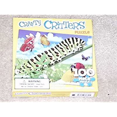 """100 Piece Puzzle """"Crafty Critters"""""""