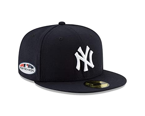 63a0b051 New Era New York Yankees 2018 Postseason Side Patch 59FIFTY Fitted Hat –  Navy (7