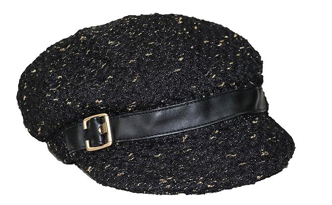 Nine West Novelty Metallic Newsgirl Hat 3bf4eb261c7