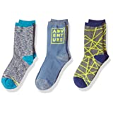 Amazon Price History for:Stride Rite Boys' 3-Pack Crew Socks