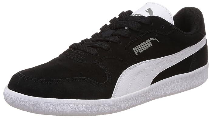 Puma Icra Trainer Erwachsene Damen Herren schwarz m. weißem Streifen