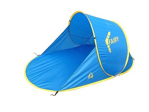 3 opinioni per Best Camp Pop Up Fairy Tenda a Conchiglia da Spiaggia, Blu, 200 x 120 x 90 cm