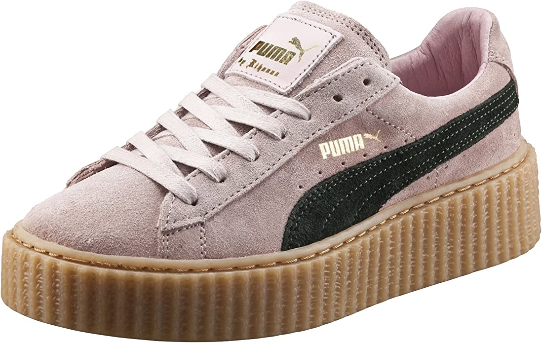 PUMA Suede Creepers Womens SZ 7.5 Pink