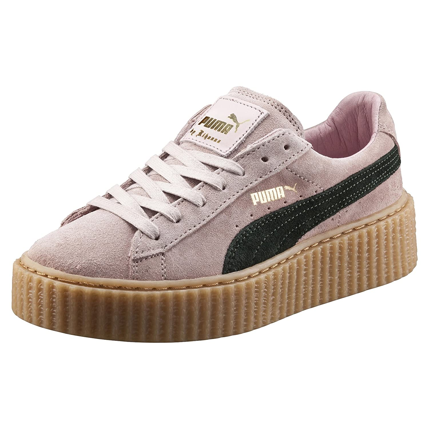 premium selection 74675 98ee4 Amazon.com | PUMA Suede Creepers Womens SZ 7.5 Pink Fenty by ...