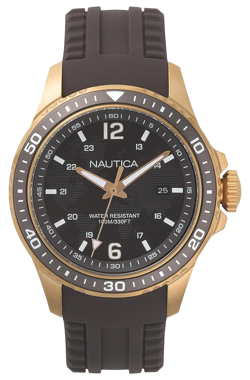 CDM product Nautica Men's Quartz Resin Silicone Watch big image