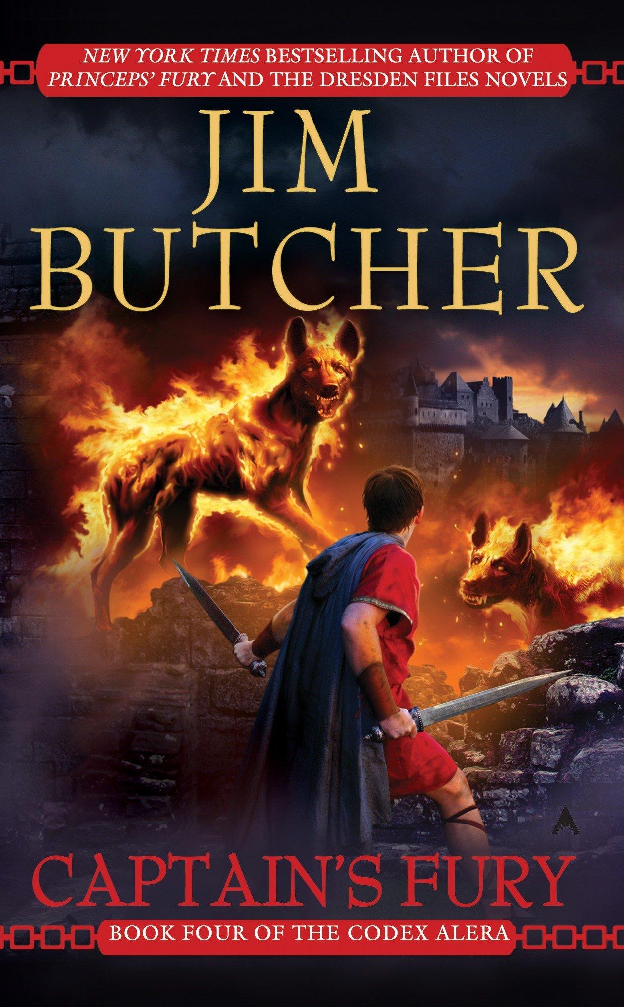 Amazon Com Captain S Fury Codex Alera Book 4 9780441016556 Butcher Jim Books