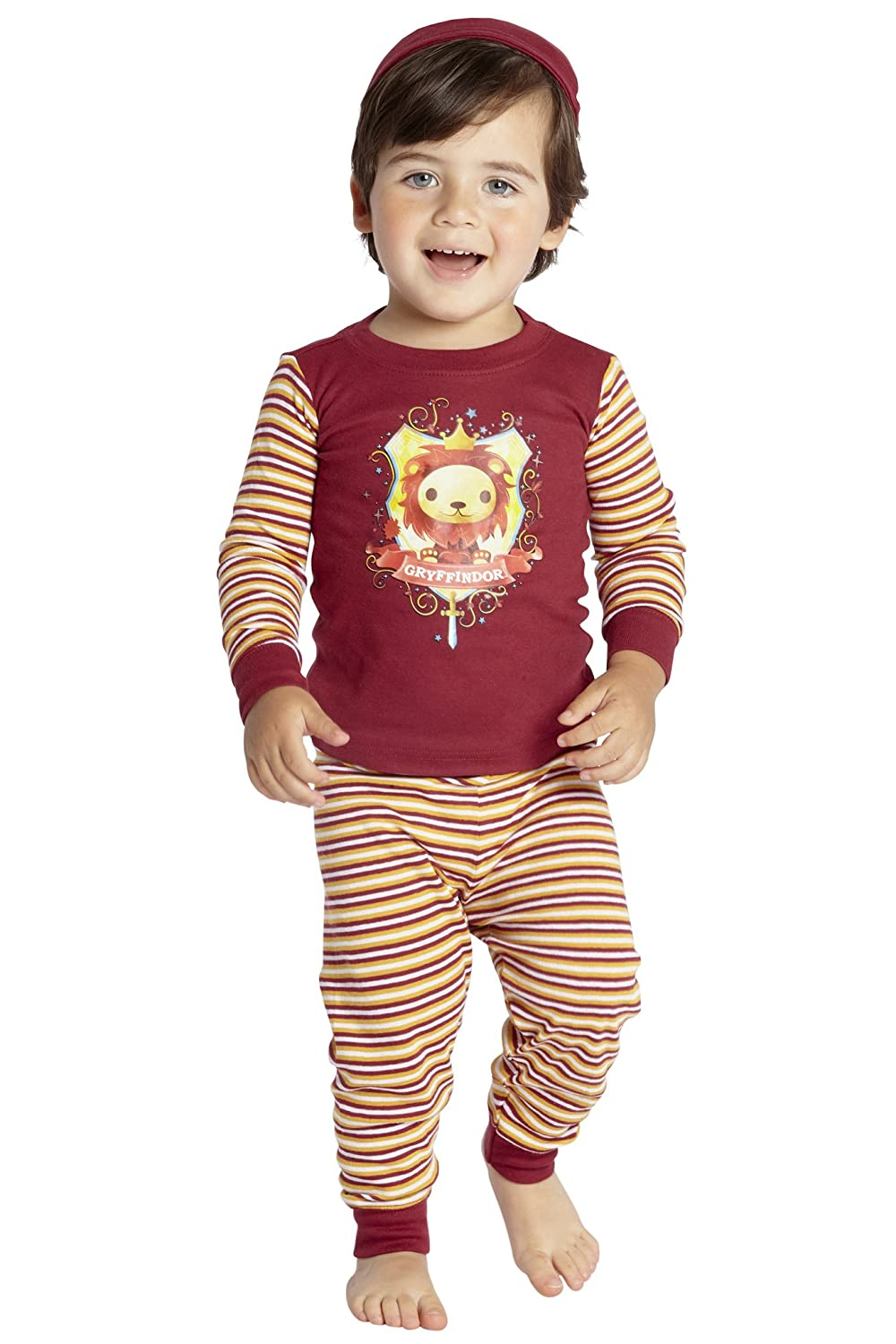 HARRY POTTER Baby Pajamas 'House Crest Cartoon' Cotton Infant Shower Gift Set Intimo