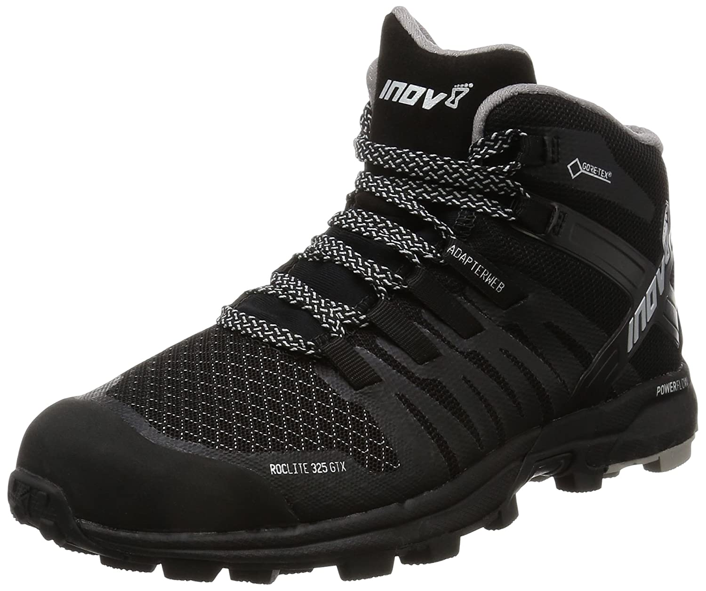 Inov-8 2017 Women's Roclite 325 GTX Trail Running Shoe - Black/Grey - 000561-BKGY-M-01 B01N8QK5ND 5.5 B(M) US|Black
