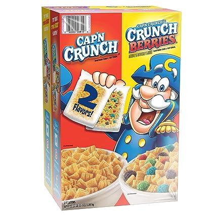 Capn Crunch Cereal, paquete variado (2 unidades, 47,40 oz ...