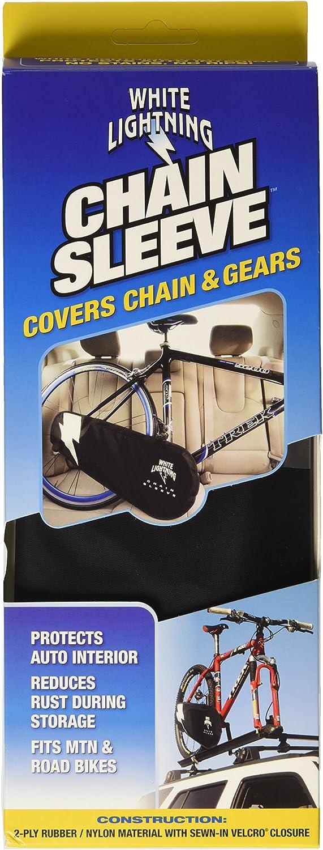 White Lightning Chain Johnny Drivetrain Cover Black