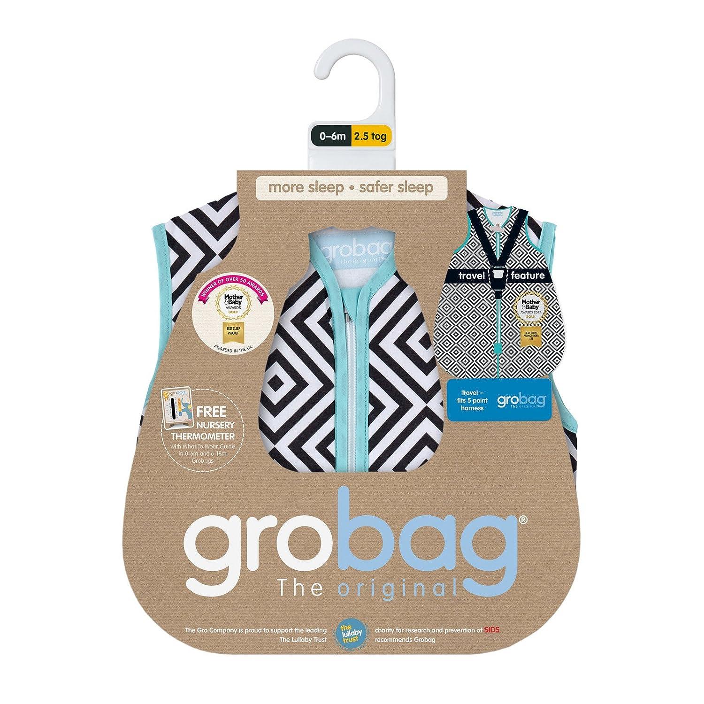 Useful The Gro Company Grobag Jet Diamonds Travel Baby Sleeping Bag 18-36m 1.0 Tog