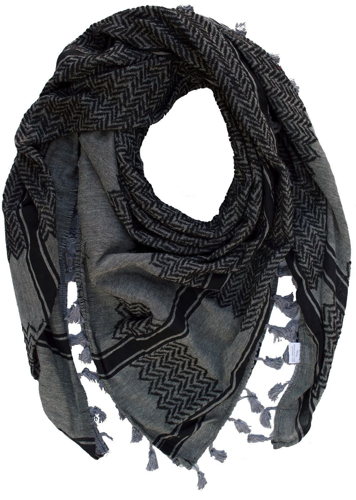 Mlgogo 100% Cotton Fashion Dessert Tactical Military Shemagh Scarf