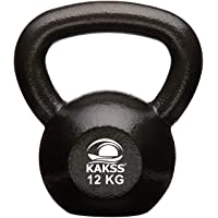 Kakss Cast Iron KettleBell For Strength and Conditioning/ Fitness/ Cross Training Assorted Colour Kettle Bell for Home Gym[ 2 kg , 4kg , 6kg , 8kg , 10kg , 12kg , 14kg , 16kg , 18kg ,20kg , 22kg , 24kg , 26kg , 28kg , 30kg, 32kg, 36kg, 40kg
