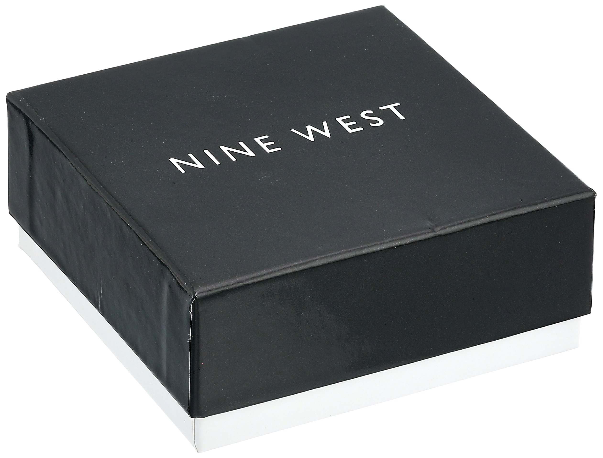 Nine West Silver-Tone and Jet Set of 2 Stretch Bracelet by Nine West (Image #3)