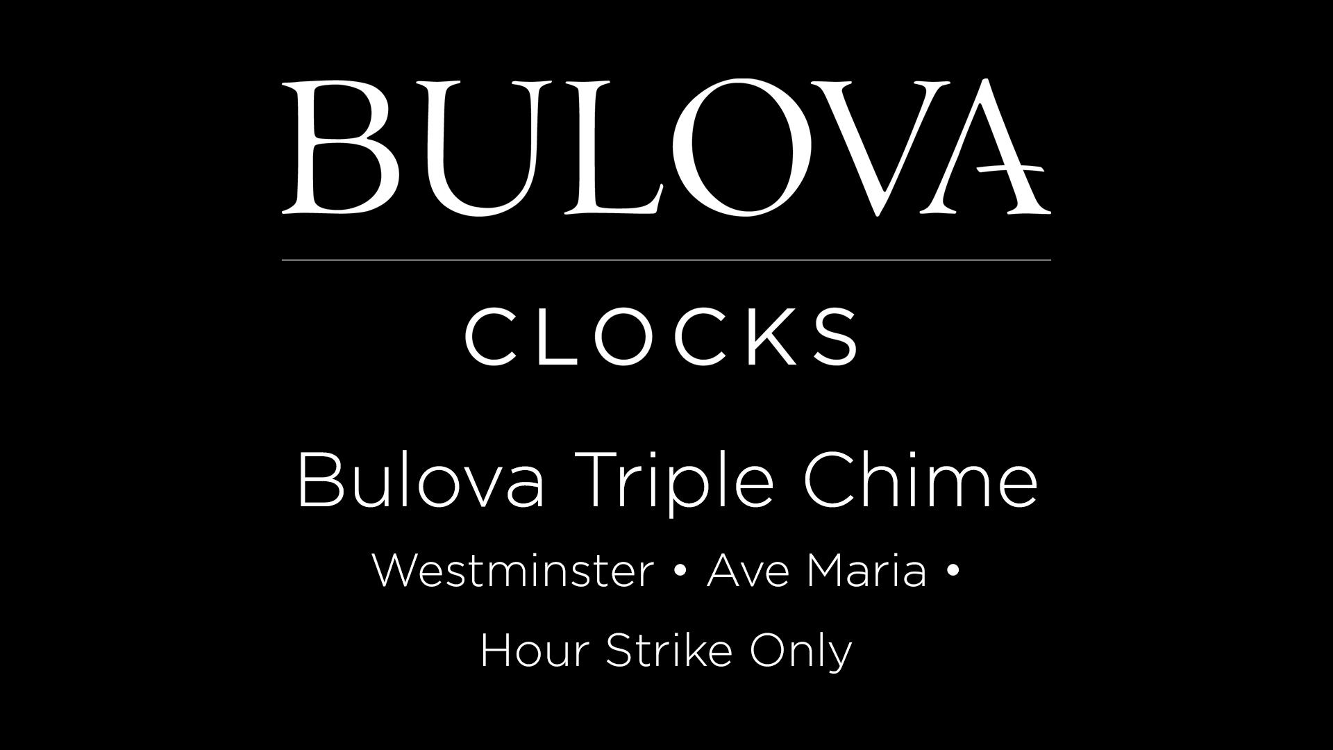 Bulova Dalton Chiming Pendulum Table Clock - Walnut Finish - Gold-Tone Accents - Walnut Finish Polished Goldstone Bezel Westminster Melody On The Hour - clocks, bedroom-decor, bedroom - 81ieYNwG64L -
