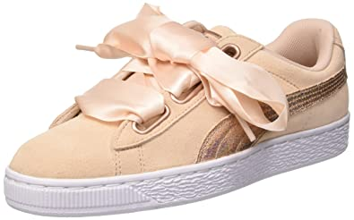 best sneakers 960a8 7bf3f Amazon.com | PUMA Women's Suede Heart Lunalux WN's Trainers ...