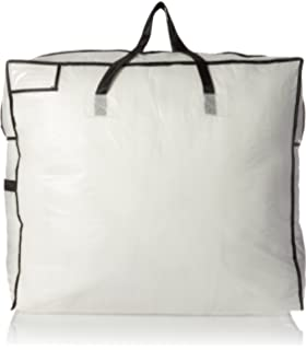 Household Essentials 2622 MightyStor Large Storage Bag With Handles |  Clothing And Linen Storage Bag |