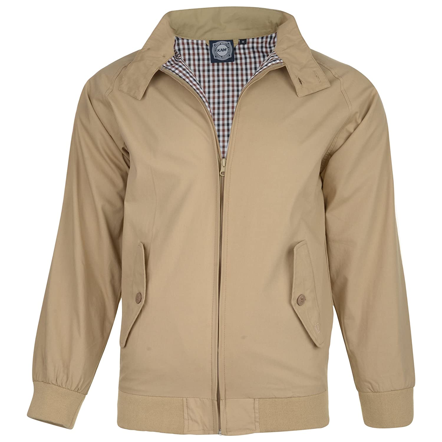 KAM Harrington Jacket - Taupe
