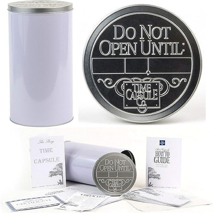 DIY mini time capsule kit perfect wanderlust birthday gift