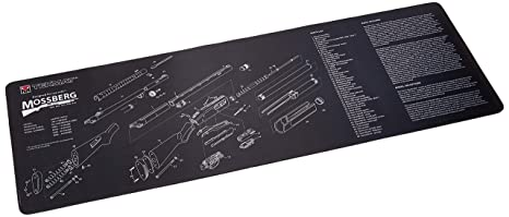 TekMat Mossberg Shotgun Cleaning Mat / 12 x 36 Thick, Durable,  Waterproof/Long Gun Cleaning Mat with Parts Diagram and  Instructions/Armorers Bench