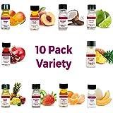 LorAnn Super Strength Pack #2 of 10 Fruity Flavors in 1 dram bottles (.0125 fl oz - 3.7ml) bottles