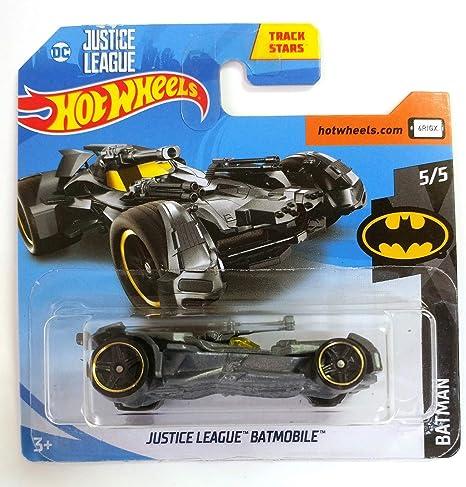 Hot Wheels Batman Justice League Batmobile 5//5 schwarz