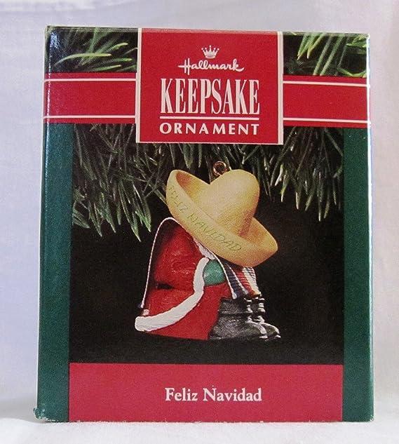 1998 Hallmark Feliz Navidad