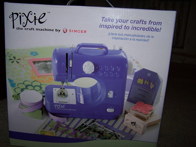 Máquina de coser Singer Pixie Craft: Amazon.es: Juguetes y juegos