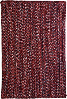 product image for Capel Rugs Team Spirit Area Rug, 4' x 6', Crimson Navy